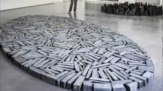 Richard Long @ the Hepworth Wakefield.  June 2012.