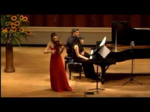 Tessa Lark | Bartok | Violin Sonata No. 1 | 2014 Indianapolis International Violin Comp