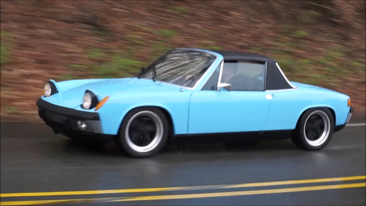Porsche 914 Review In The Pouring Rain Youtube