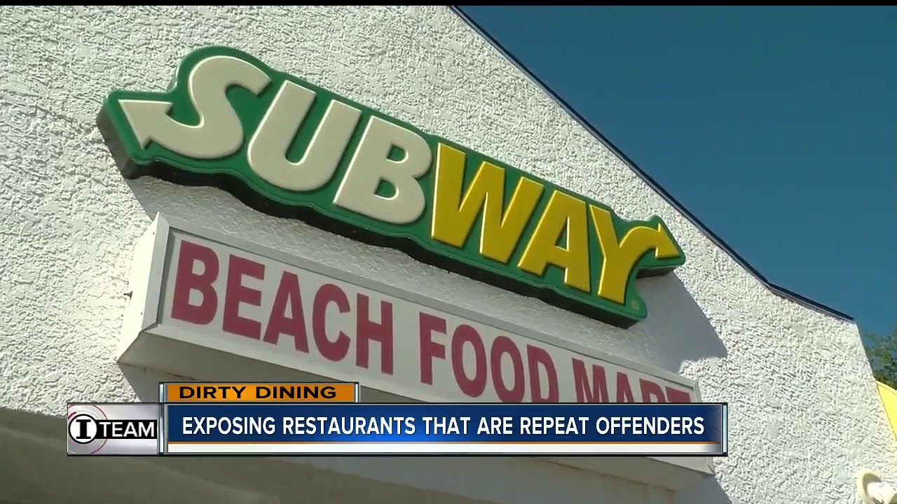 Dirty Dining: Golden Corral, Yummy House & Subway among 50+ restaurants with repeat violations