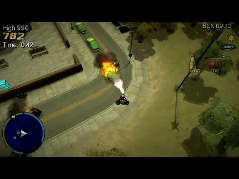 GTA Chinatown Wars - 35 Rozwałek / 35 Rampages (PSP)