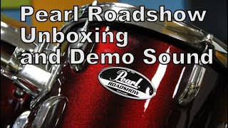 Pearl Roadshow Drums | Unboxing and Sound Sample