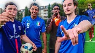 ULTIMATIVE STÜRMER FUßBALL CHALLENGE !
