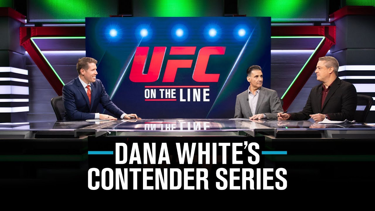 Download On The Line | Dana White's Contender Series - Week 7