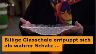 Vermeintlich Billige Glasschale bei Bares für Rares