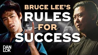 Bruce Lee's Top 9 Rules For Success