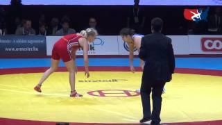 55 KG Gold - Sofia Mattsson SWE vs Saori Yoshida JPN