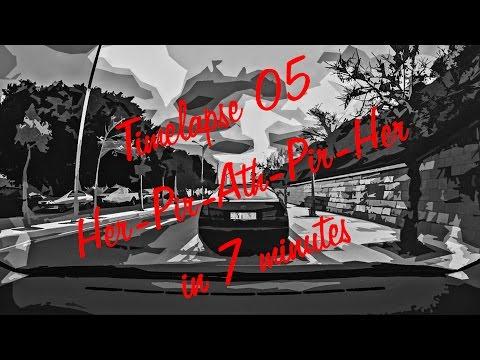 Timelapse 05 - From Heraklion to Piraeus to Athens to Piraeus and back to Heraklion in 7 minutes!