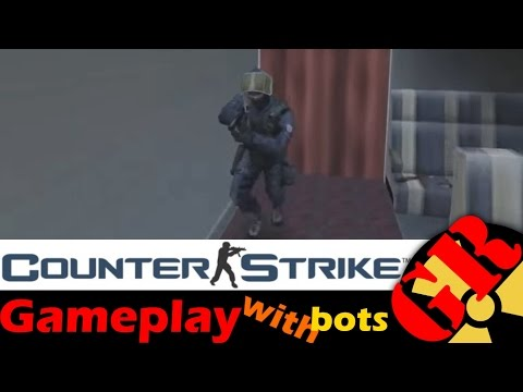 Counter-Strike v1.6 gameplay with Hard bots - 747 - Counter-Terrorist