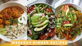 Seasonal Weekday Recipes // Simple + Delicious