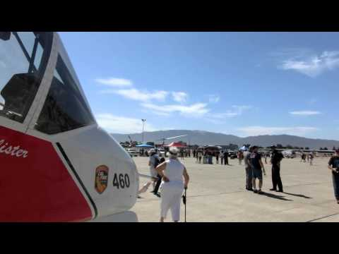CA Fire Command & Control Airplane at California Airshow Salinas 2015