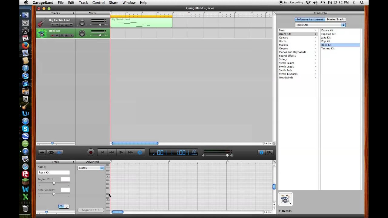 How to make techno house music on garage band youtube for House music maker