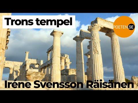 TRONS TEMPEL diktvideo av poeten Iréne Svensson Räisänen