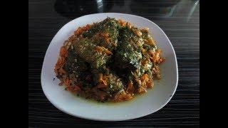 Голубцы из листьев салата .Сарма -Долма из  листьев салата. Праздничный рецепт.