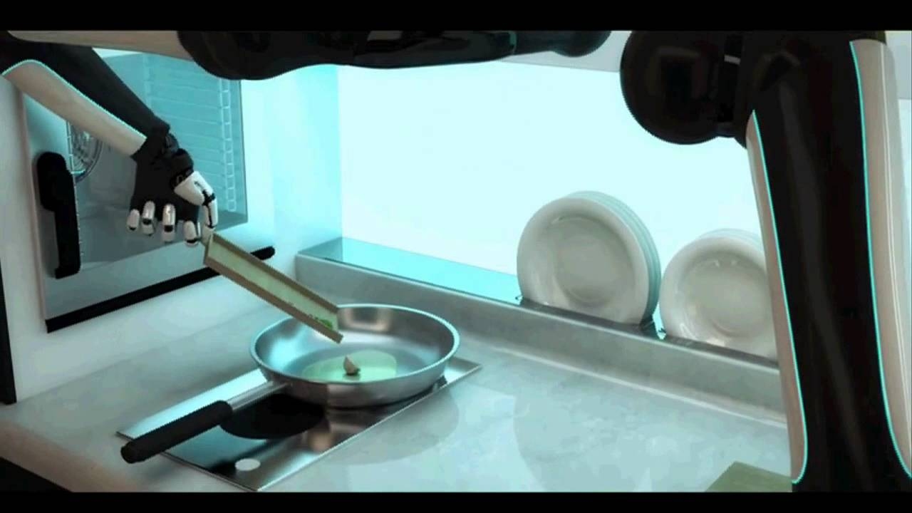 kitchen robot anaheim cabinets moley unveils world s first robotic which can cook by mimicking chef youtube
