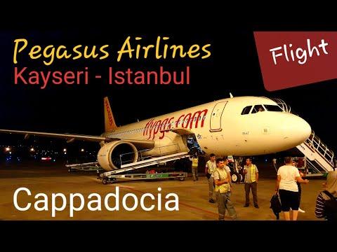 PEGASUS Airlines Airbus A320Neo Flight Report | PC 2741 Kayseri to Istanbul Sabiha Gokcen Havalimani