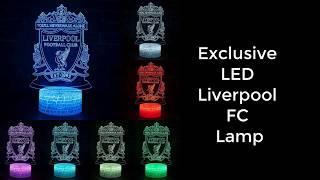 Liverpool fc led lamp new 2020. -
