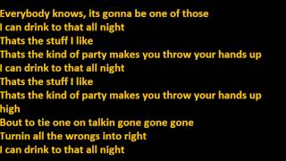Jerrod Niemann - I Can Drink To That All Night Lyrics