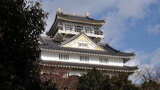 ビリーを連れて、岐阜までお出かけ。 関ヶ原合戦後に築城された加納城と...