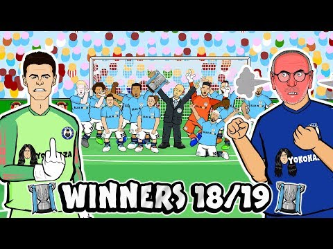 🏆3-4! PENALTY SHOOTOUT!🏆 Kepa & Sarri clash! Man City win the Carabao Cup! (Goals Highlights 2019)