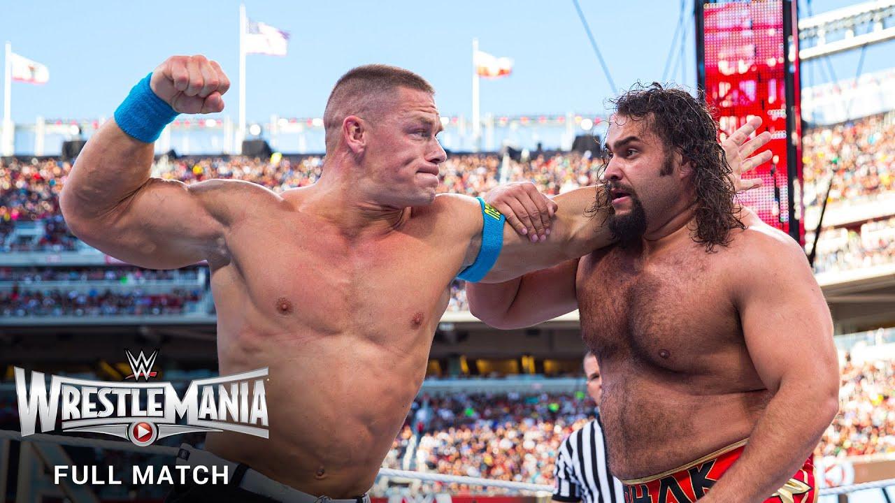 Download FULL MATCH - Rusev vs. John Cena – U.S. Title Match: WrestleMania 31
