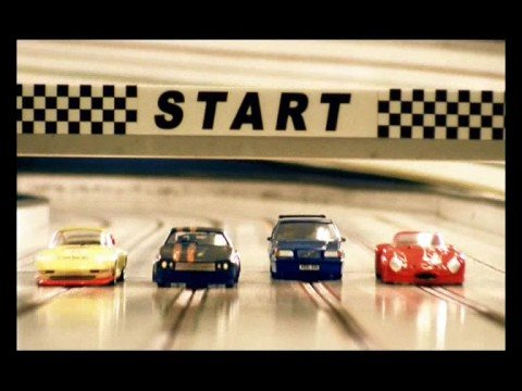 Volvo Slot Car Advert – Fulham Digital Scalextric Club alska Volvo