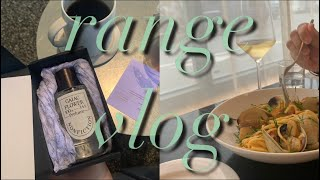 range vlog ㅣ 평일엔 일하고 주말엔 맛집.  …