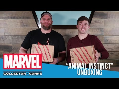 Marvel Collector Corps: Animal Instinct Unboxing!