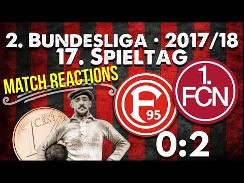 17. Spieltag • Fortuna Düsseldorf : 1.FC Nürnberg - Match Reactions