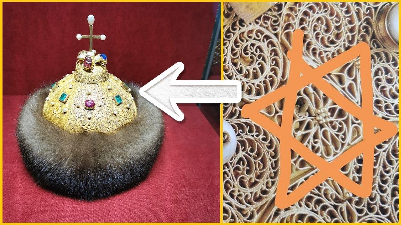 Загадки и тайные знаки шапки Мономаха.