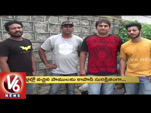 Special Story On Friends Of Snakes Society | Snakes Rescue Team In Hyderabad | Ankuram | V6 News