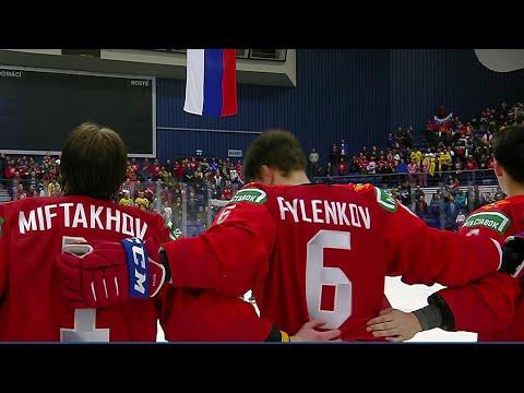 В финале молодежного Чемпионата мира по хоккею сыграют сборные России и Канады.
