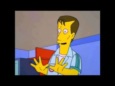 The Simpsons: James Woods KwikEMart