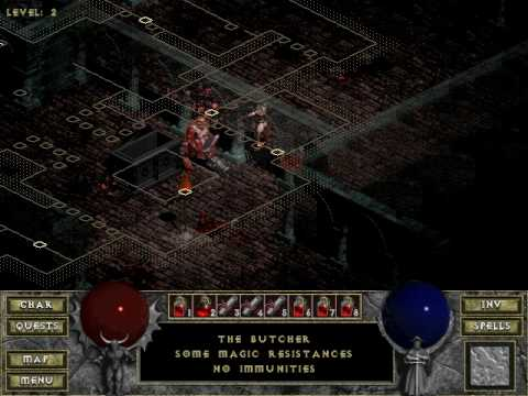 how to get to the butcher diablo 3