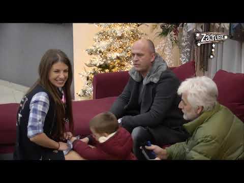 Zadruga 2 - Draganu Mitar posetili muž i sin - 31.12.2018.