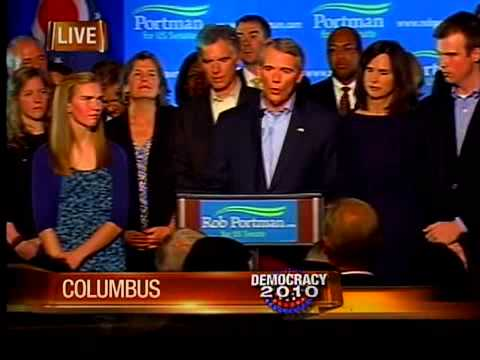 Rob Portman gives victory speech
