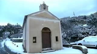 Vague de froid Moscou-Paris : la Corse sous la neige