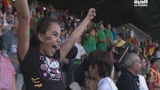العائلات الجزائرية تدخل مدرجات المشجعين!