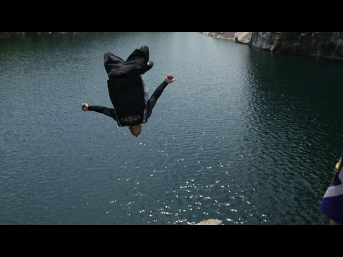 68' Goal Post Gainers  Cliff Jumping in Vermont with Cliff Life Productions