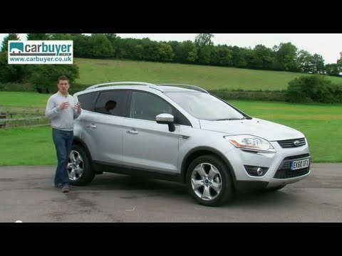 ford kuga suv 2008 2012 review carbuyer youtube. Black Bedroom Furniture Sets. Home Design Ideas