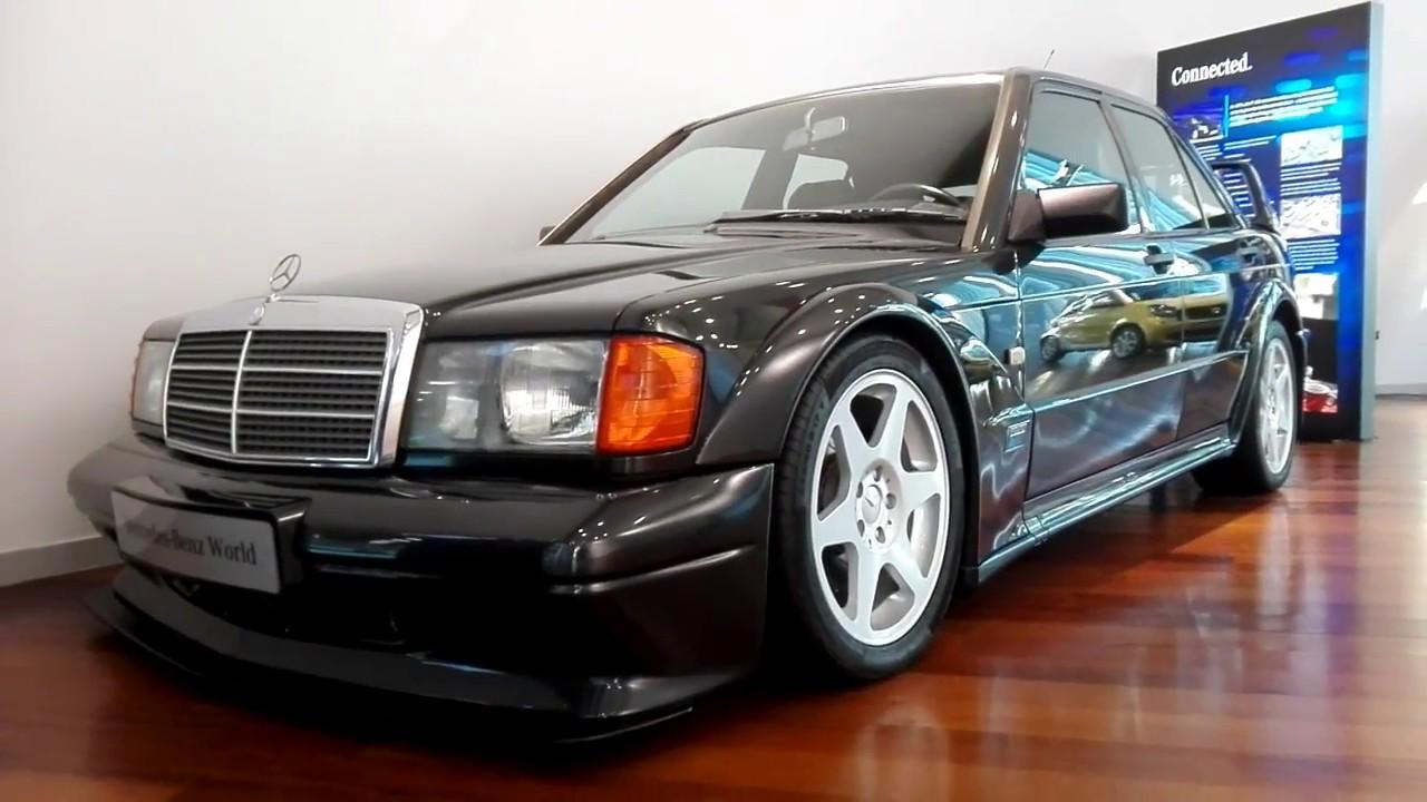 Mercedes benz 190 e 2 5 16 evo 2 mercedes benz for Mercedes benz brooklands