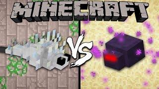 Silverfish vs. Endermite - Minecraft
