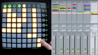 Ableton Launchpad Tutorial - How To Play - Sessions