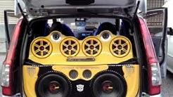 Car audio Malaysia K&H Auto Accessories Team At Country Homes Audioshow.(Coucar Audio)