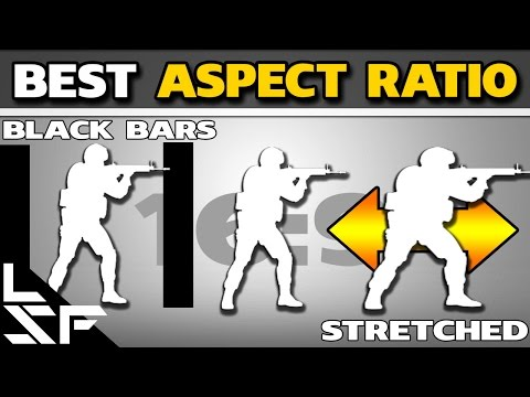 BEST ASPECT RATIO | 16:9 VS 4:3 STRETCHED VS BLACK BARS - CS:GO Guide