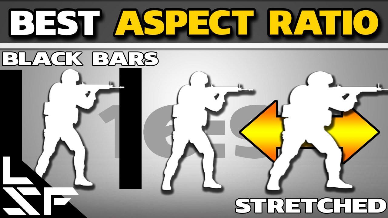 BEST ASPECT RATIO | 16:9 VS 4:3 STRETCHED VS BLACK BARS - CS:GO Guide