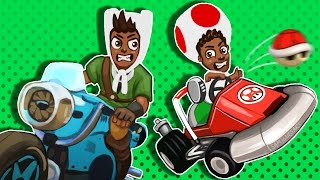 Mario Kart 8 Funny Moments -  Friendships Ruined, runJDrun RAGE!