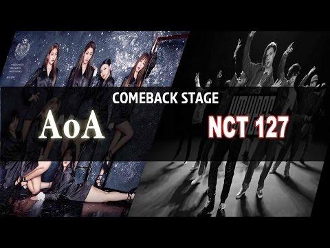 Show Music Core Live ★ COMEBACK : AOA, NCT 127, WJSN, APRIL 20170107