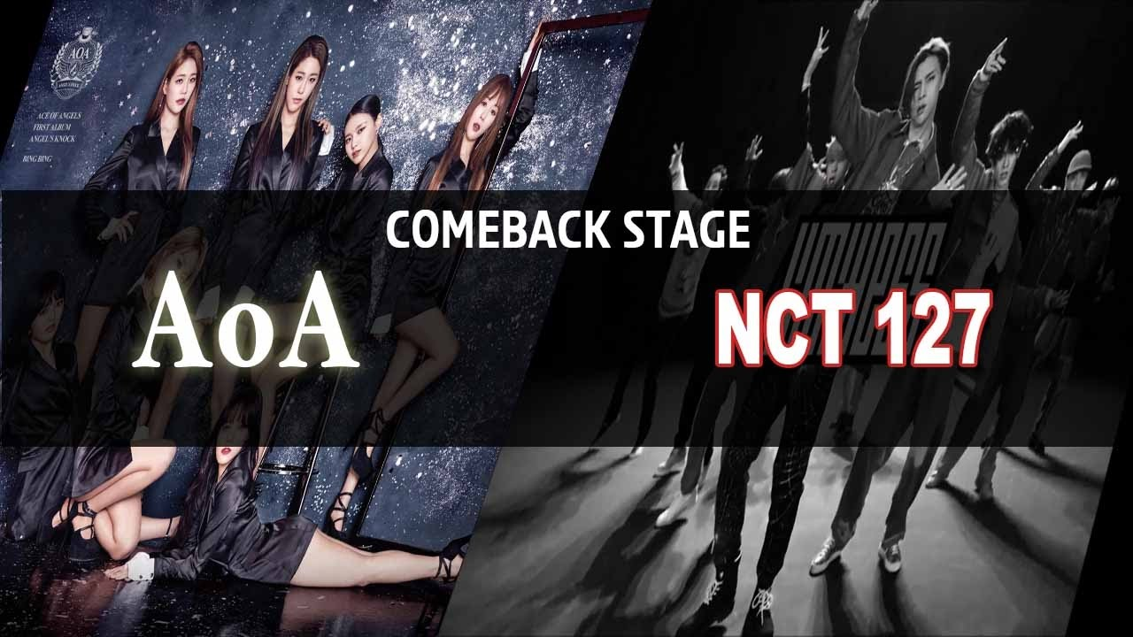 Show Music Core Live Comeback Aoa Nct 127 Wjsn April 20170107 Youtube