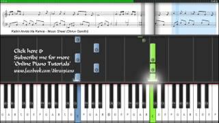 Kabhi Alvida Naa Kehna (Piano Tutorial + MIDI+ Music Sheet) -- Dhruv Gandhi